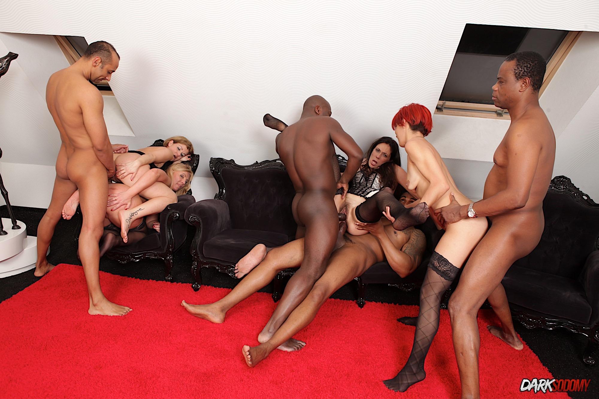 Black Orgy Porn Pics